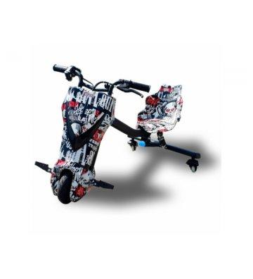 Triciclo eléctrico 360º patinete