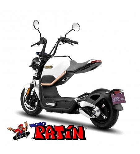 MIKU MAX MATRICULABLE MOTOR BOSCH / 20AH SUNRA COLOR BLANCO