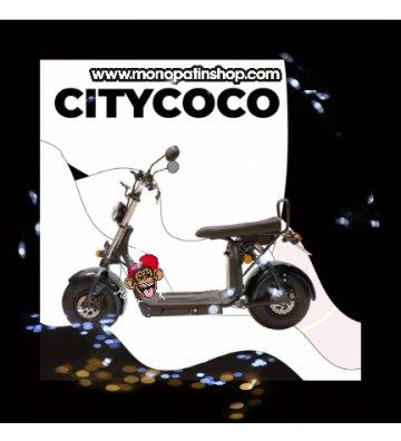 CITYCOCO MATRICULABLE  1.55KW/20AH (DOBLE BATERÍA OPCIONAL) NEGRO