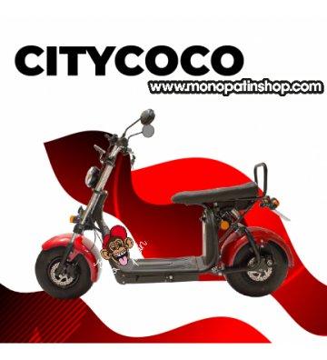 CITYCOCO MATRICULABLE 1.55KW/20AH (DOBLE BATERÍA OPCIONAL) ROJO