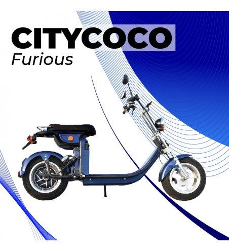 CITYCOCO-CICLOMOTOR MATRICULABLE FURIOUS 49E 4000W/40AH
