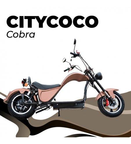 CITYCOCO COBRA 49E 2000W24 AH  (DOBLE BATERÍA OPCIONAL)