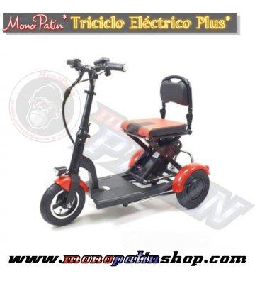 Triciclo-Scooter Eléctrico...